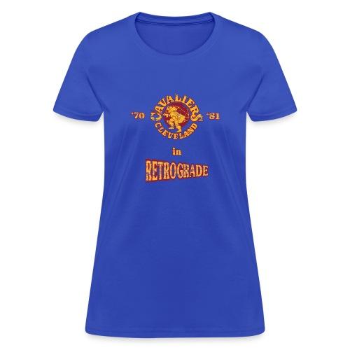Warriors sending the Cavs back in time . '70/'81 - Women's T-Shirt