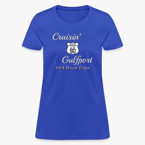 Cruisin Gulfport US90 - Women's T-Shirt