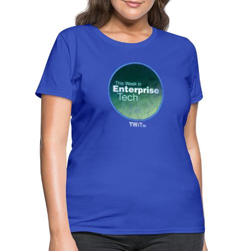 This Week in Enterprise Tech - distressed - Women's T-Shirt