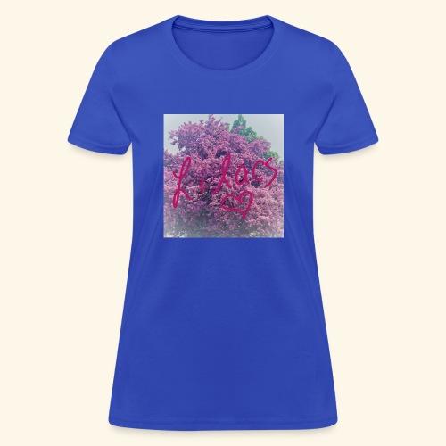 I love Lilacs - Women's T-Shirt