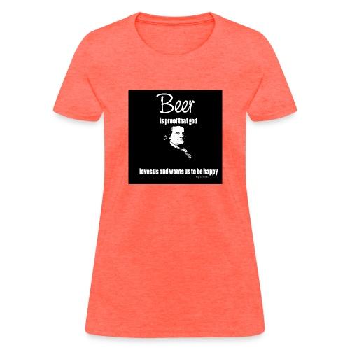 Beer T-shirt - Women's T-Shirt