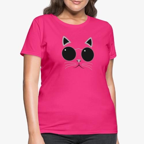 Hipster Cat T-Shirt - Women's T-Shirt