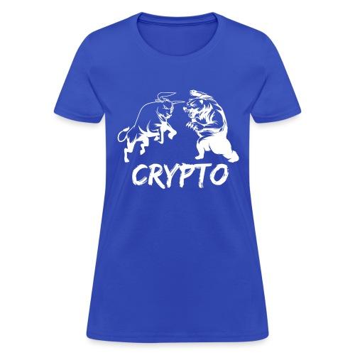CryptoBattle White - Women's T-Shirt