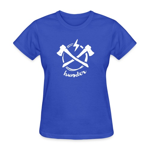 woodchipper back - Women's T-Shirt