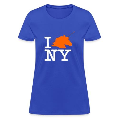 I Unicorn New York (Kristaps Porzingis) - Women's T-Shirt