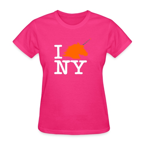 I Unicorn New York (Kristaps Porzingis) - Women's T-Shirt