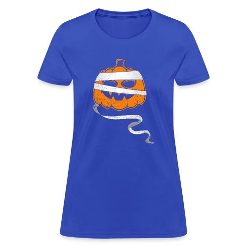 Halloween Bandaged Pumpkin - Women's T-Shirt