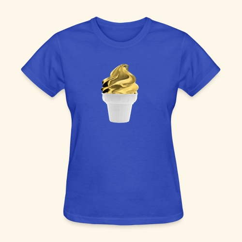 Design Golden gold - Women's T-Shirt