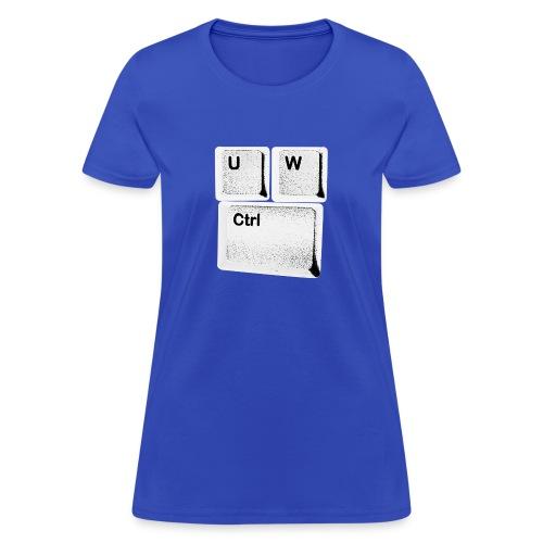 U/W Control! - Women's T-Shirt