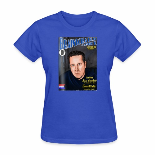 BrainScratch Retro Comic Cover - Women's T-Shirt
