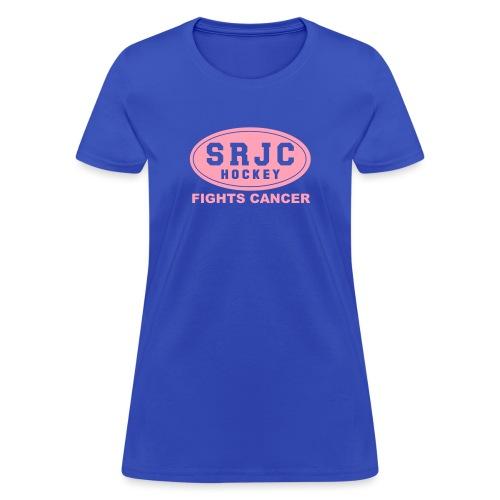 cancer pink srjc logo - Women's T-Shirt