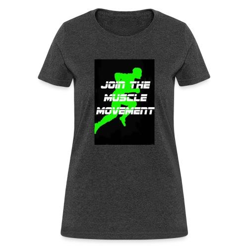 muscle movement - Women's T-Shirt