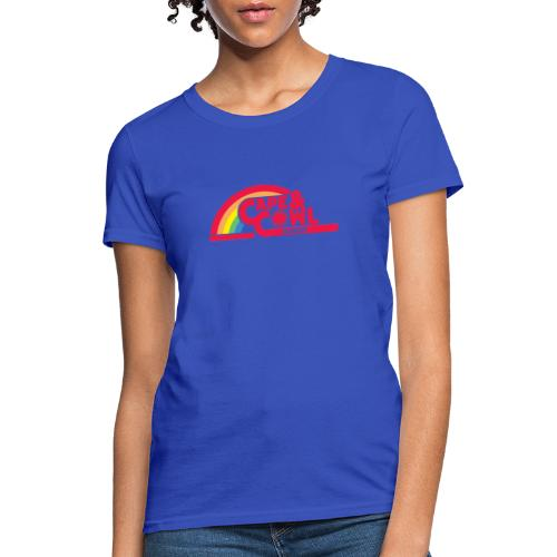 Reading the Cape and Cowl Rainbow - Women's T-Shirt