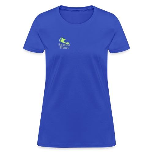 Get Out & Run Barefoot Women's T-Shirts - Women's T-Shirt
