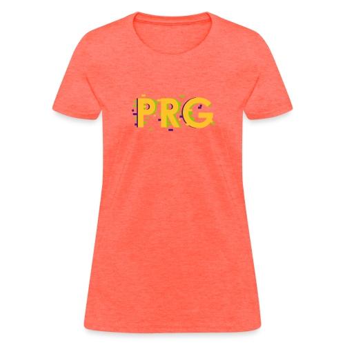 PRG distorted Neon libertarian Design - Women's T-Shirt