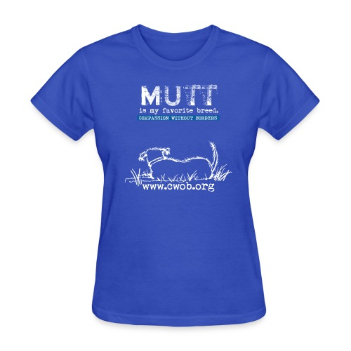 Mutt is My favorite Breed - Women's T-Shirt