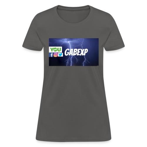 gabexp 1 - Women's T-Shirt