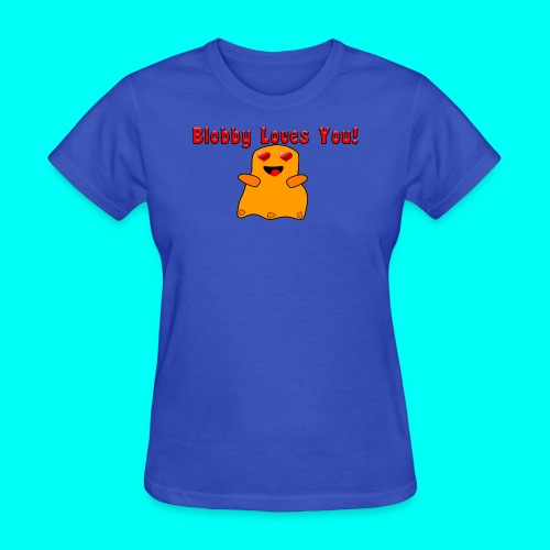 Blobby Loves You Shirt - Women's T-Shirt
