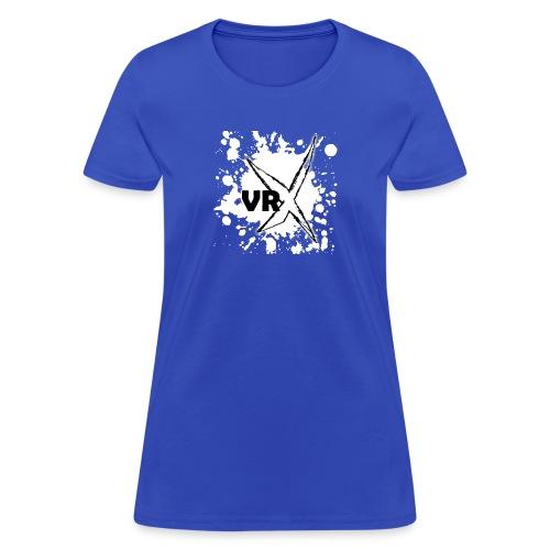 VRX White Paint Splatter - Women's T-Shirt