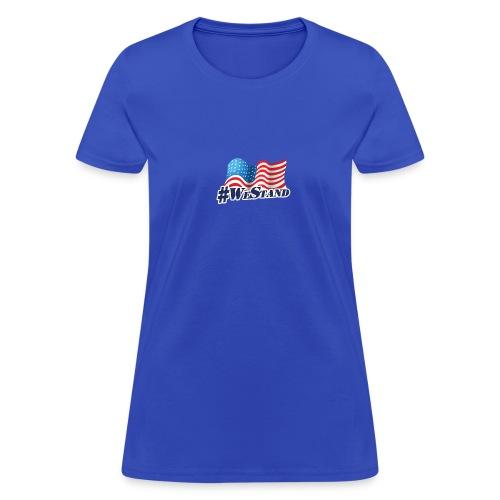 We Stand Waving Flag - Women's T-Shirt