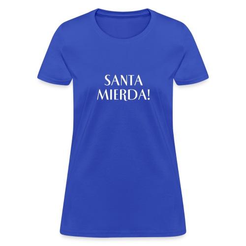 Text Logo (white) - Women's T-Shirt