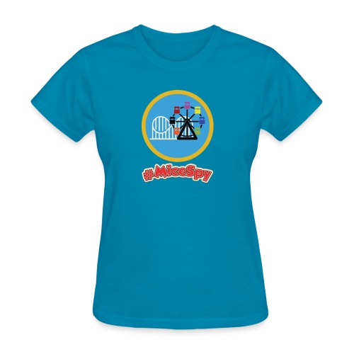 Paradise Pier Explorer Badge - Women's T-Shirt