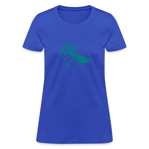 praying mantis bug insect - Women's T-Shirt