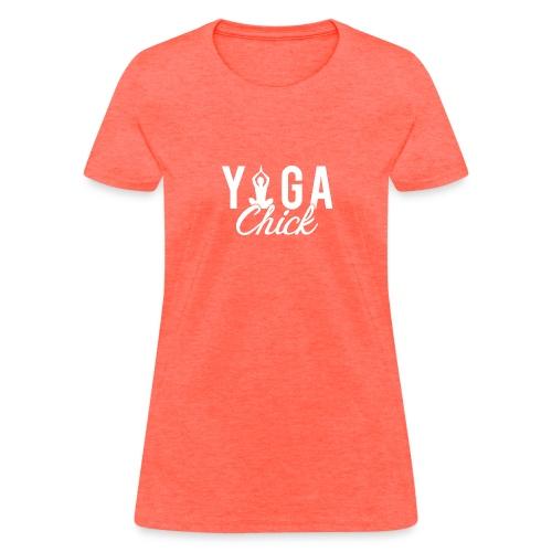 Yoga Fitness Chick - Women's T-Shirt