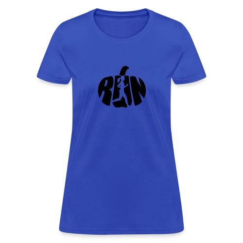 Halloween Running Pumpkin - Women's T-Shirt