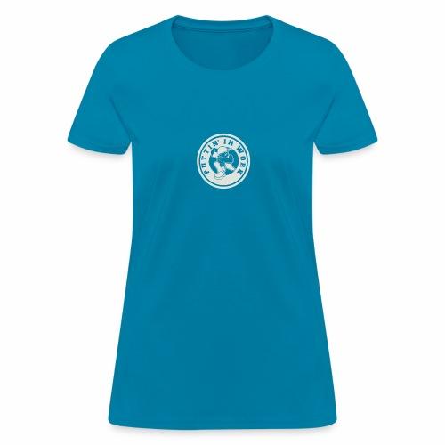P.I.W White Logo - Women's T-Shirt