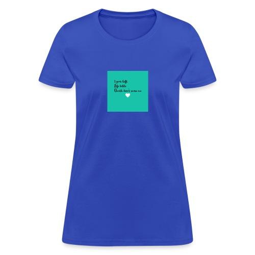 My thoughts - Women's T-Shirt