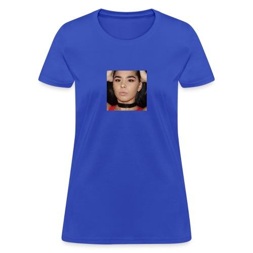 Orange & Black Cut Crease - Women's T-Shirt