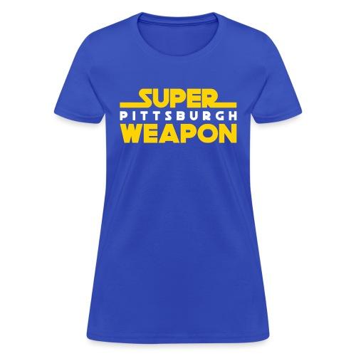 super weap - Women's T-Shirt