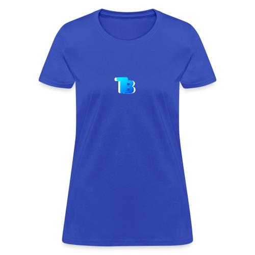 Trublu Overlapping letter Design - Women's T-Shirt