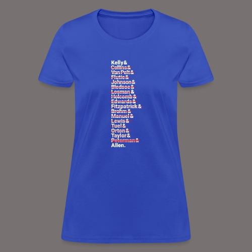 Buffalo Franchise Quarterbacks - Women's T-Shirt