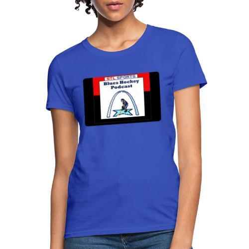 Blues Hockey Podcast - 16 Bit - Women's T-Shirt