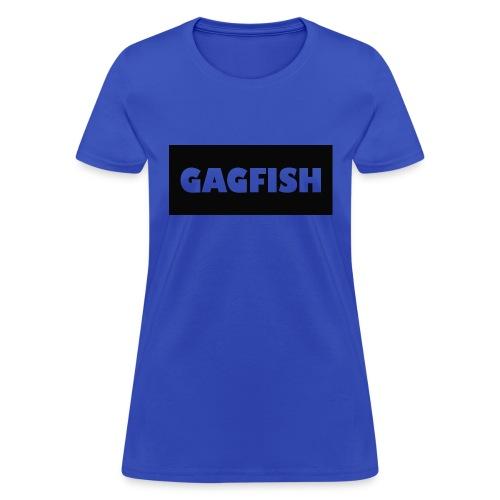 GAGFISH BLACK LOGO - Women's T-Shirt