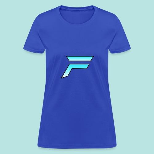 #furytfup Fade sharp logo - Women's T-Shirt