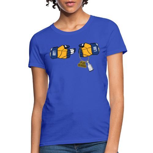 Blues Hockey Podcast - Run the League - Women's T-Shirt