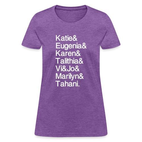 Math Gals 2019 w/ #MathGals hashtag - Women's T-Shirt