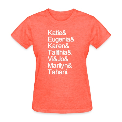 Math Gals 2019 w/ #MathGals hashtag - Women's T-Shirt