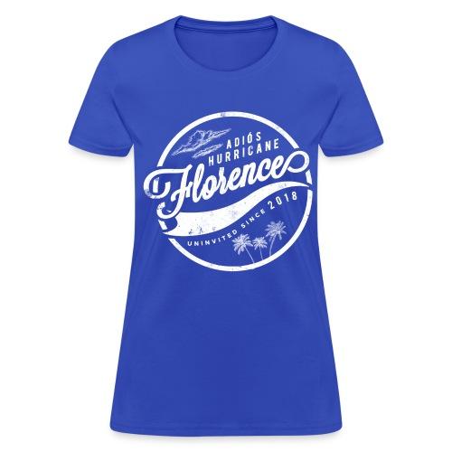 Adios Hurricane Florence - White - Women's T-Shirt
