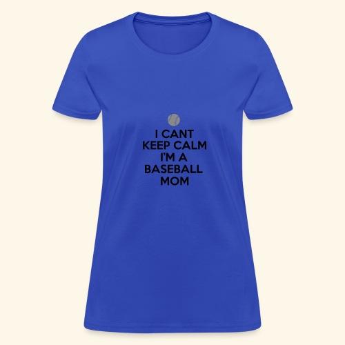 Baseball Mom Shirt - Women's T-Shirt