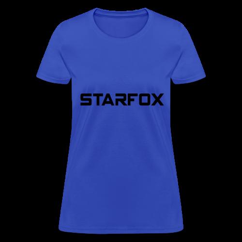 STARFOX Text - Women's T-Shirt