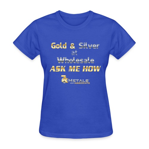 gold and silver at wholesale - Women's T-Shirt
