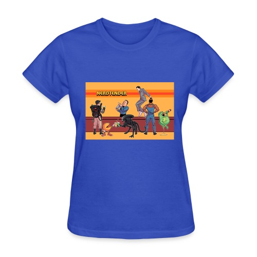 Official Nerdtender T-Shirt - Women's T-Shirt