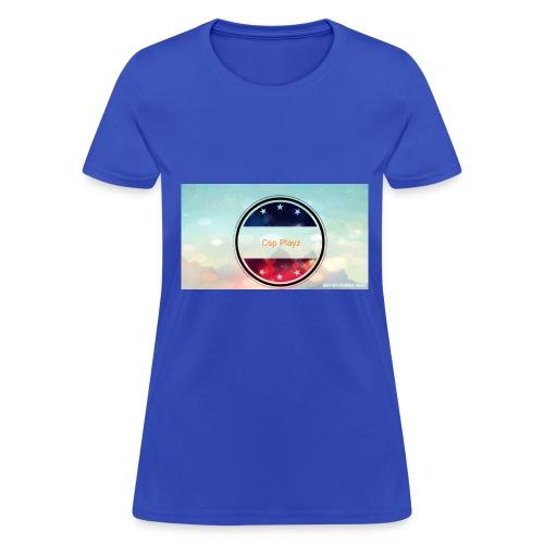 Csp playz first merch - Women's T-Shirt