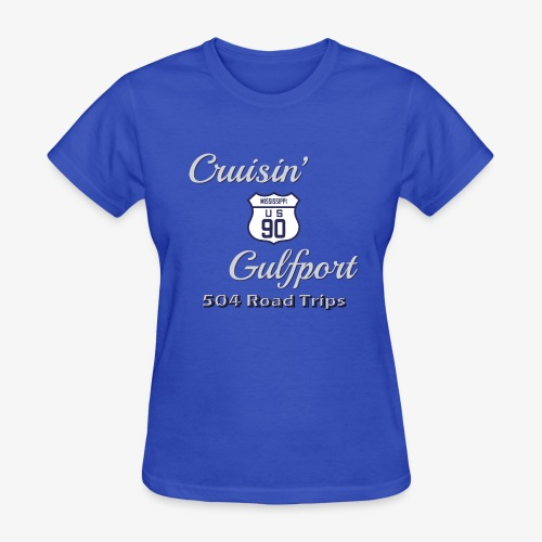 Cruisin Gulfport US90 - Women's T-Shirt