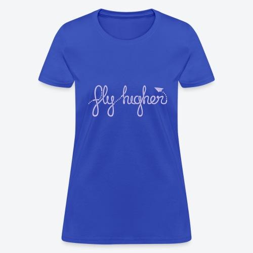 Fly Higher - Light Purple - Women's T-Shirt