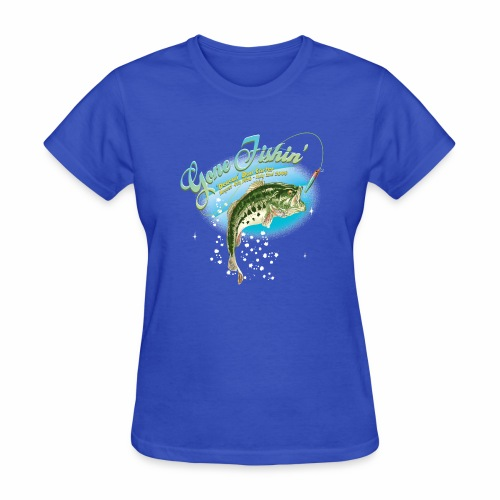 fishing base revise - Women's T-Shirt